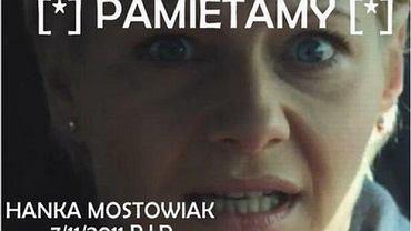 Hanka Mostowiak.