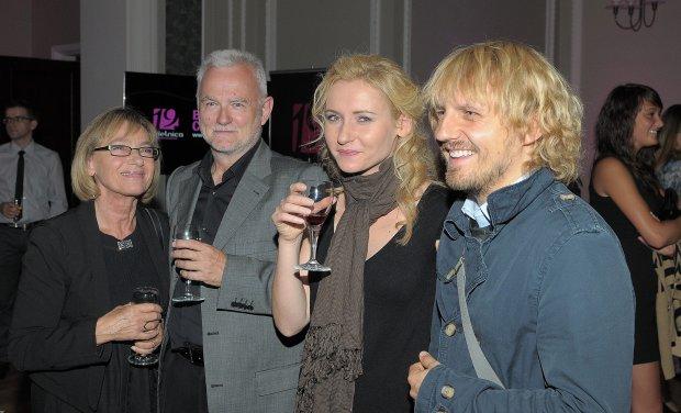 Anna Tomaszewska, Krzysztof Piasecki, Zuzanna Grabowska i Piotr Domagała