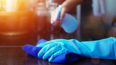 Koronawirus - środki czystości
