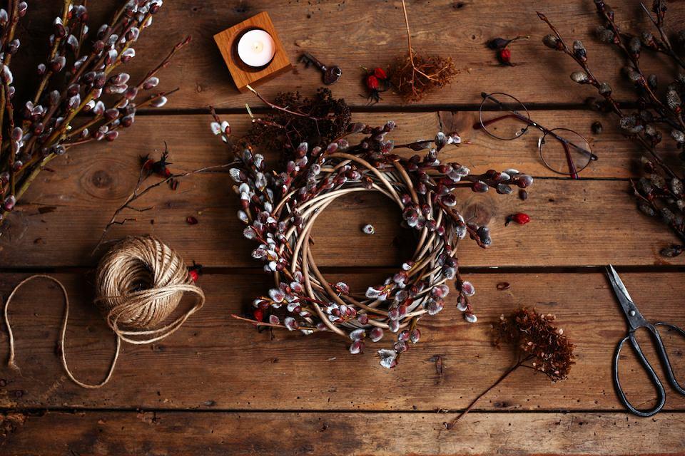 Wielkanoc 2020: naturalne dekoracje DIY