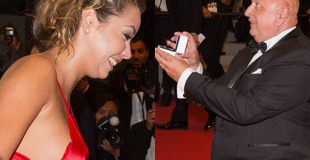 Tłum gwiazd w Cannes. Nagle jeden z mężczyzn klęka i oświadcza się
