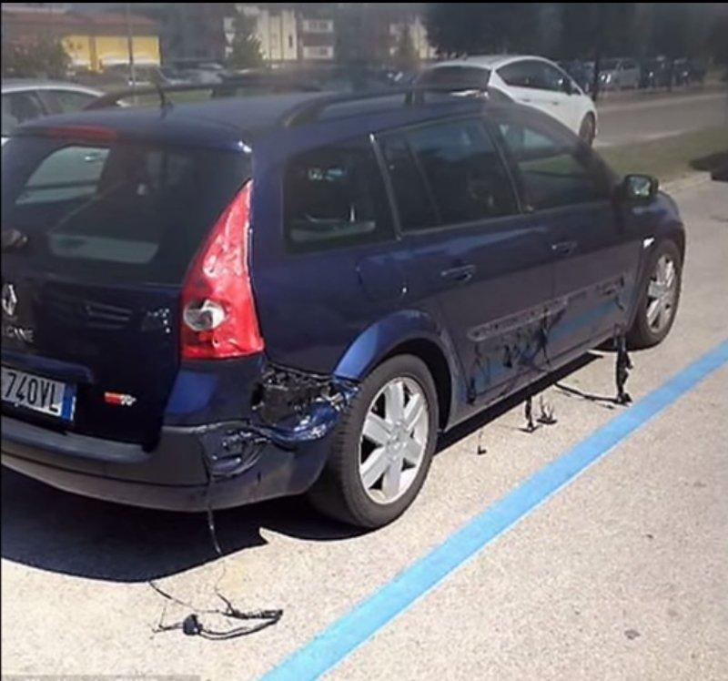 Roztopione auto