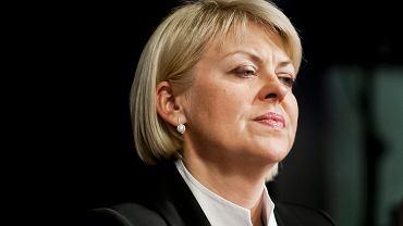 Andżelika Borys, przewodnicząca Związku Polaków na Białorusi