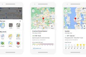 Google podrasuje swoje mapy dzięki sztucznej inteligencji. Szykuje ponad 100 ulepszeń