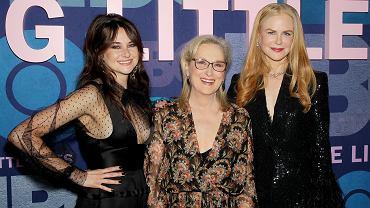 Shailene Woodley, Meryl Streep and Nicole Kidman, nowojorska premiera drugiego sezonu 'Wielkich kłamstewek'