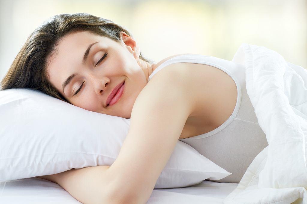 Spalanie kalorii podczas snu
