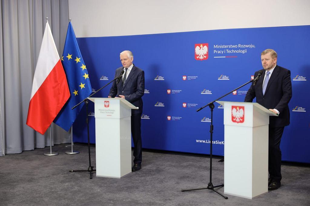 Jarosław Gowin i Michał Witucki