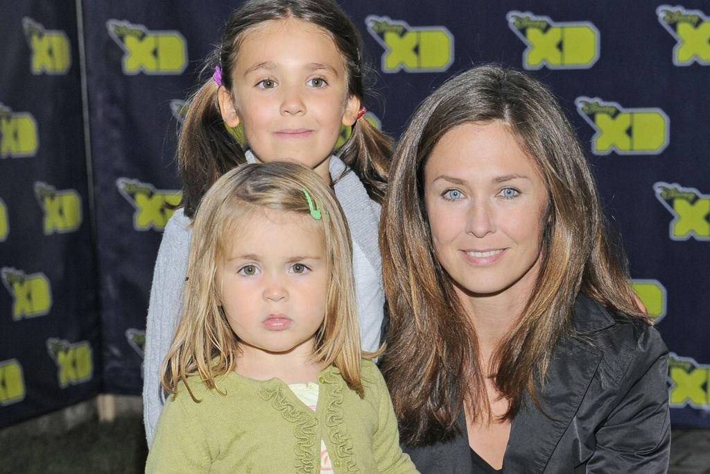 Dorota Naruszewicz z córkami
