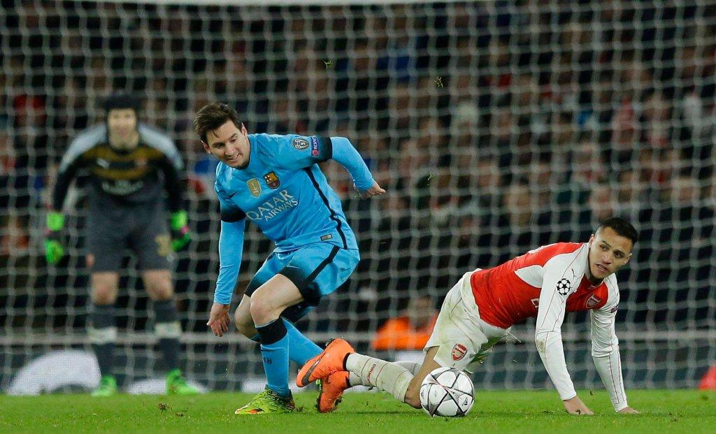 Barcelona - Arsenal. Transmisja TV, relacja online, stream na żywo