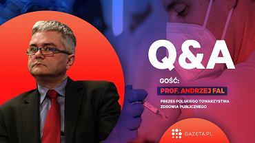 Prof. Andrzej Fal odpowiedział na pytania czytelników Gazeta.pl ws. szczepień