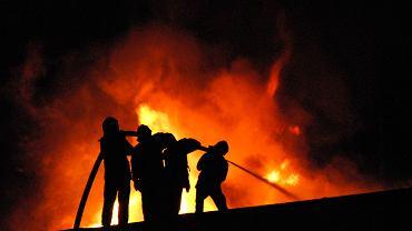 Pożar hotelu Złoty Groń w Istebnej. Goście i pracownicy w porę opuścili budynek (zdj. ilustracyjne)