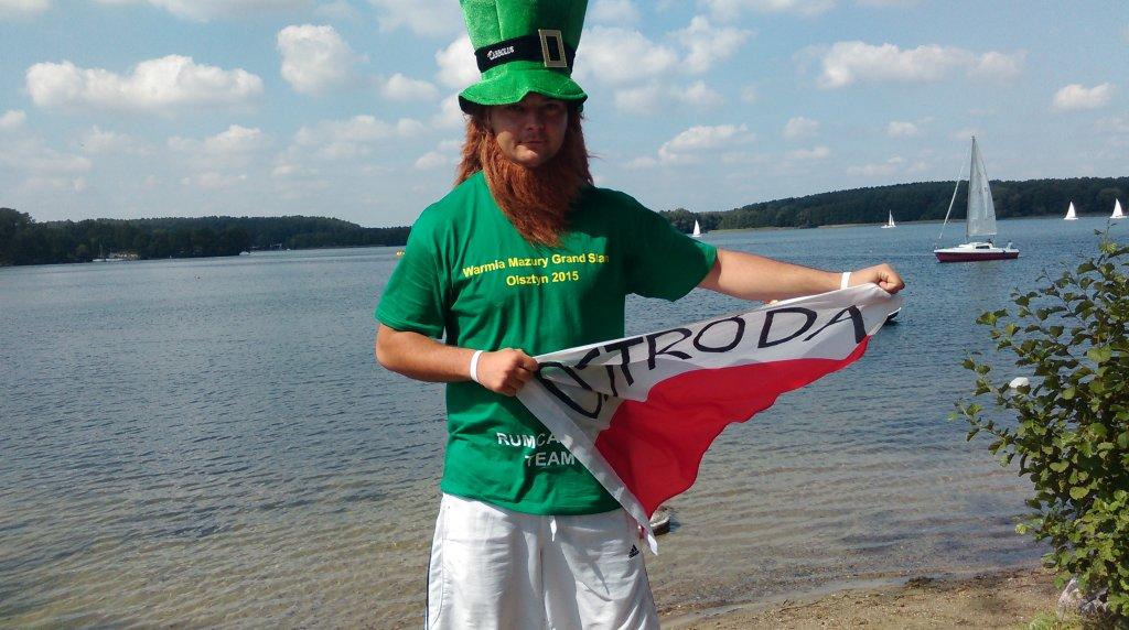 Łukasz Matuszczak od 12 lat jeździ jako kibic na turnieje World Tour organizowane w Polsce