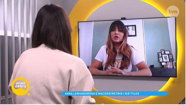 Anna Lewandowska w ''DD TVN''