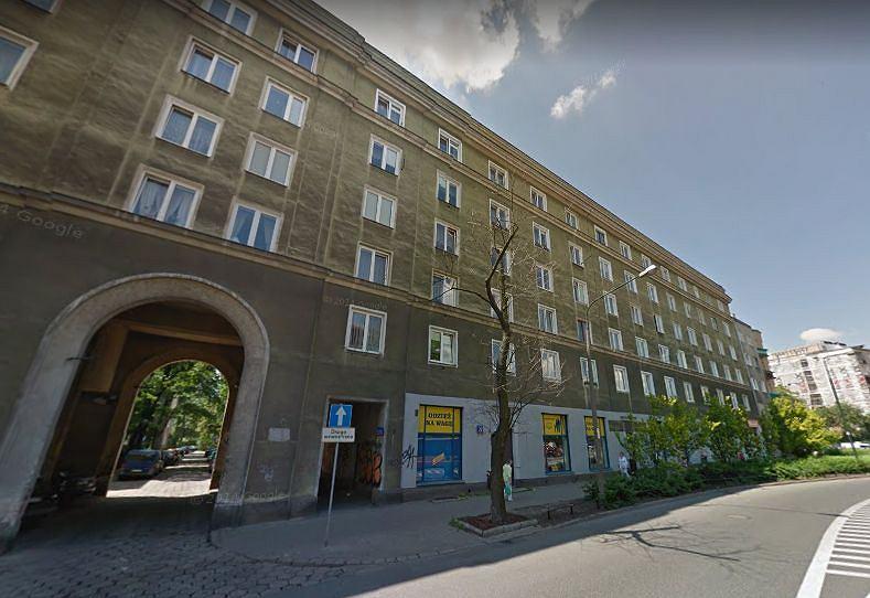 Budynek u zbiegu Rabsztyńskiej i Płockiej