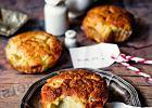 Muffinki z gruszkami i gorgonzolą