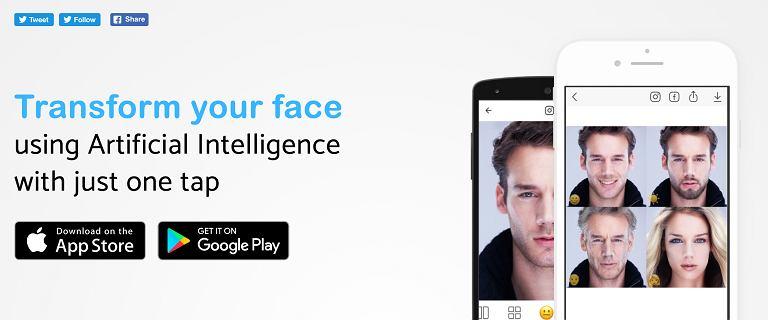 Szał wokół FaceApp trwa. Rosyjska aplikacja w 10 dni zarobiła milion dolarów