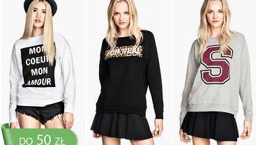 Tanio: modne bluzy do 50 zł