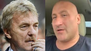 Zbigniew Boniek i Marcin Najman