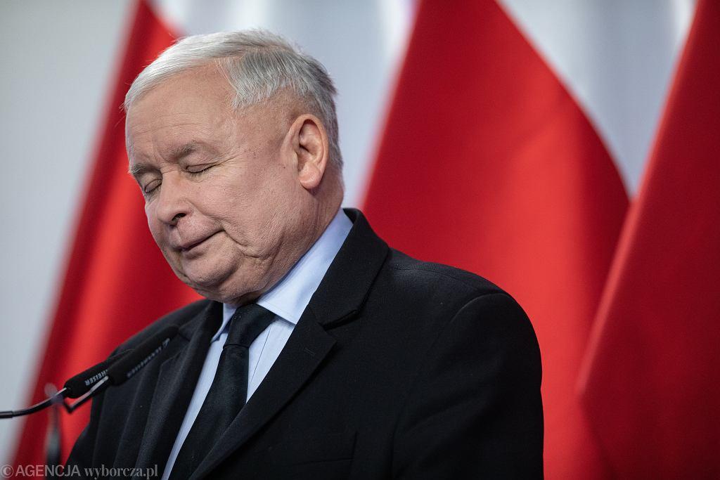 Prezes Jarosław Kaczyński