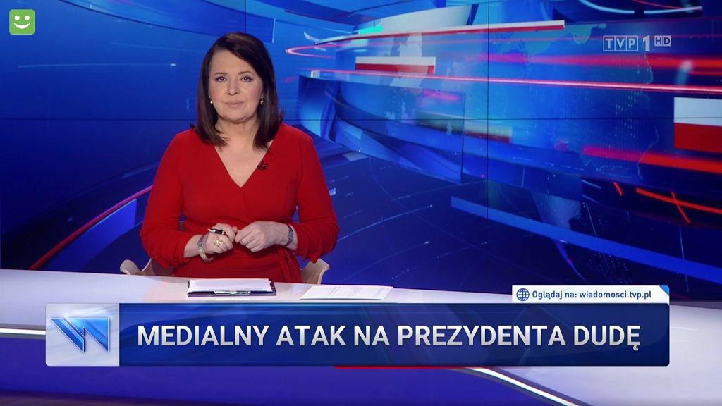 'Wiadomości' TVP z 13 lipca