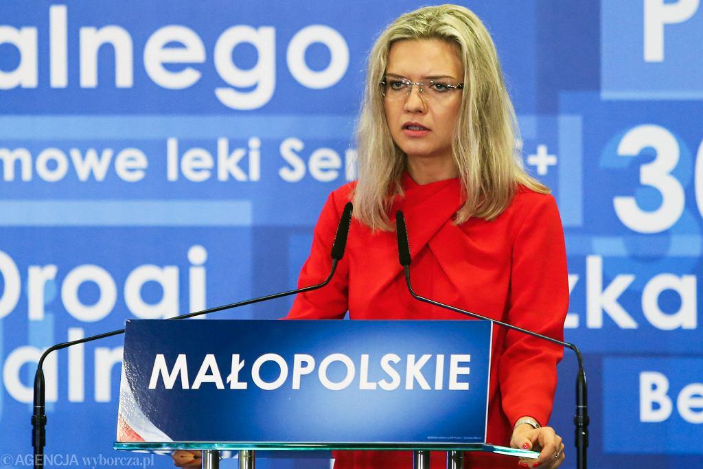 Wybory samorządowe 2018 w Krakowie. Małgorzata Wassermann zapowiedziała bezpartyjność swojej prezydentury