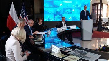 Konferencja z okazji podpisania umowy PGNiG na dostawy gazu LNG z USA do Polski