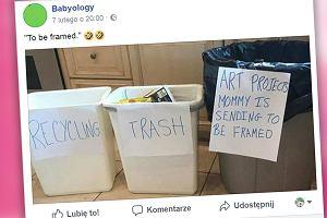 """W sieci pojawił się kontrowersyjny trik dla rodziców, których dzieci dużo rysują. """"Nie mogłabym tego zrobić"""""""