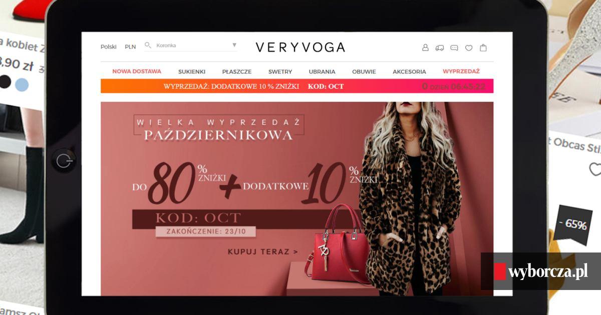 15ca1b10a52fa1 Robisz zakupy w sklepie internetowym z siedzibą w Chinach? Ostrzegamy przed  VeryVoga.pl, ale naciągaczy jest więcej