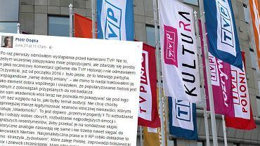 Piotr Osęka odmówił wystąpienia w TVP