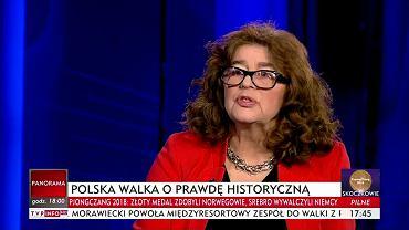 Dr Ewa Kurek w TVP Info