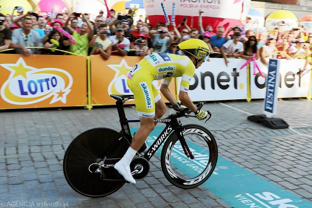 7 etap 71 Tour de Pologne Rafał Majka - indywidualna jazda na czas