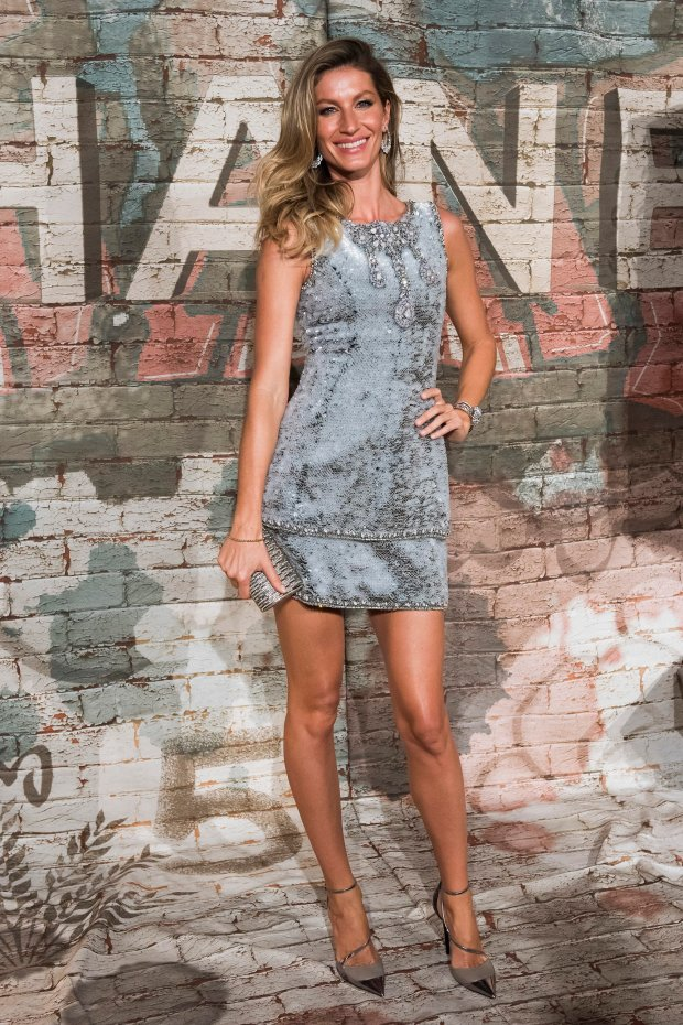 Gisele Bundchen attends the Chanel dinner celebrating No. 5 - The Film