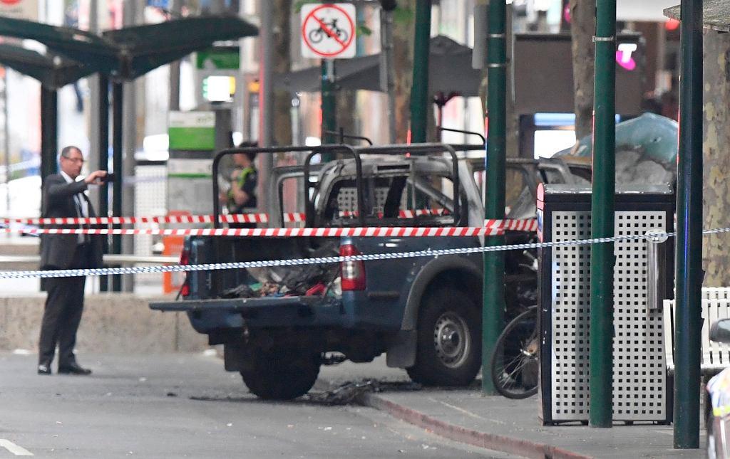Atak nożownika w Melbourne