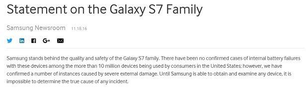 Komunikat Samsunga