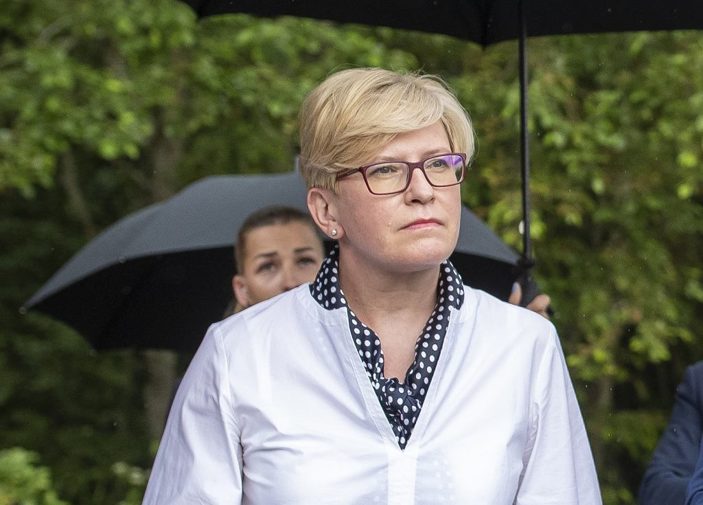 Premierka Litwy Ingrida Simonyte