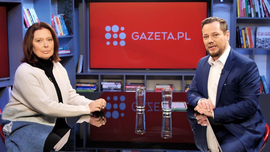 Małgorzata Kidawa-Błońska w poranku Gazeta.pl
