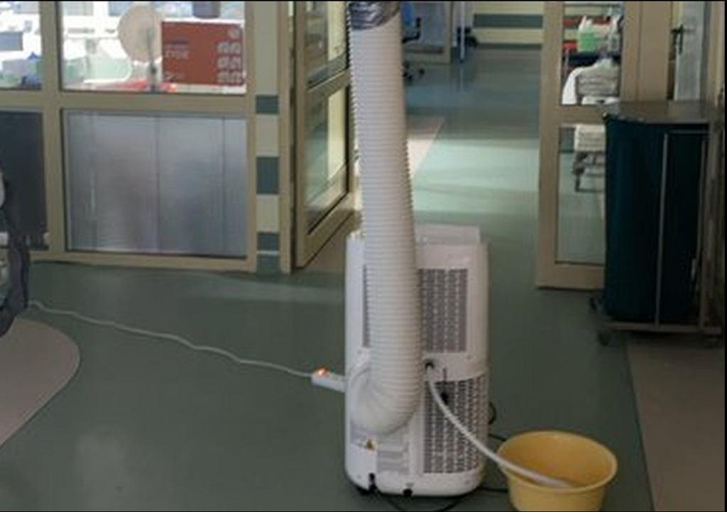 Klimatyzacja w szpitalu na Banacha