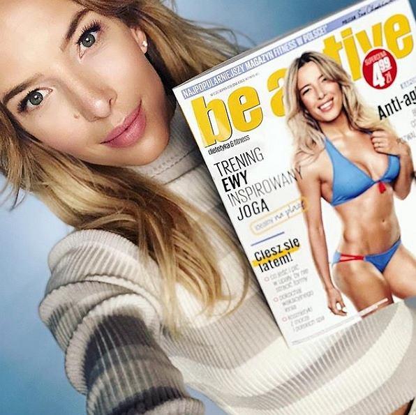 Ewa Chodakowska stworzyła magazyn Be Active i była jego redaktor naczelną