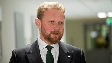 Były minister zdrowia Łukasz Szumowski
