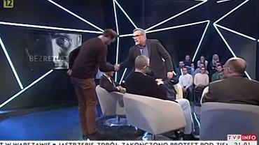 Jacek Żakowski zakłada się z działaczem PiS