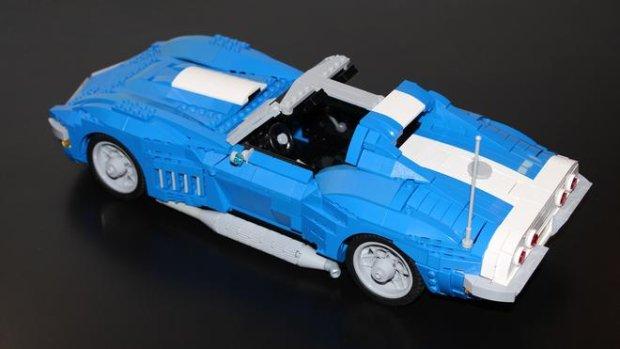 Chevrolet Corvette 1969 z klocków Lego