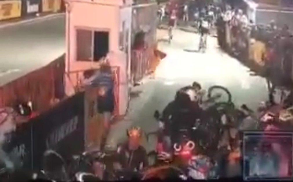 Wypadek podczas wyścigu kolarskiego w Nowym Jorku
