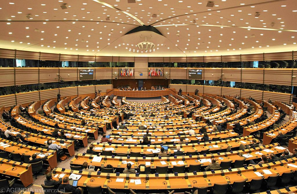 Sala obrad plenarnych w Brukseli