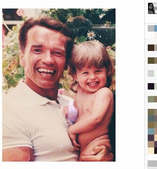 Katherine i Arnold Schwarzenegger