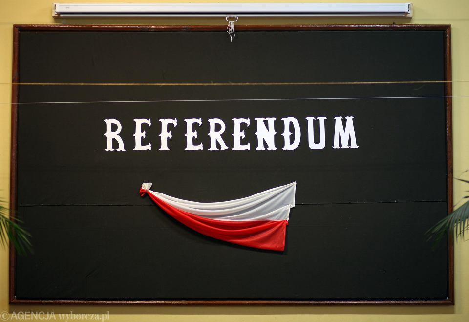 Co z wrześniowym referendum?