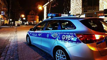 Radiowóz policji w Zakopanem