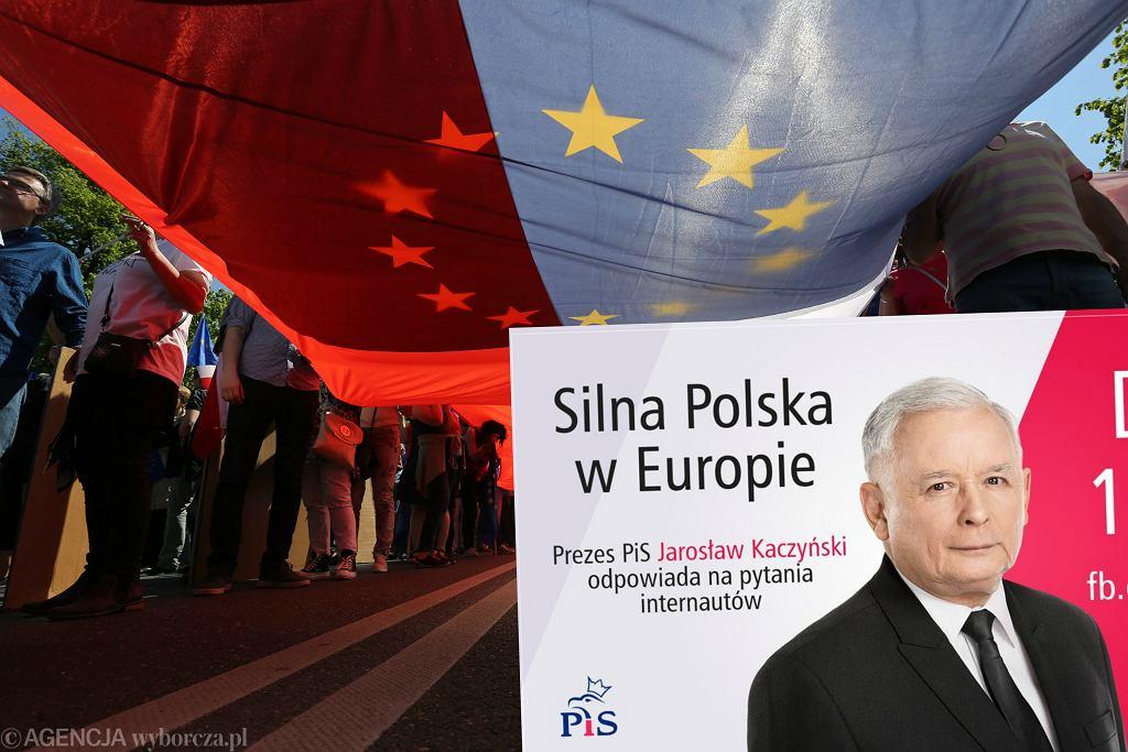 Marsz KOD i partii opozycyjnych