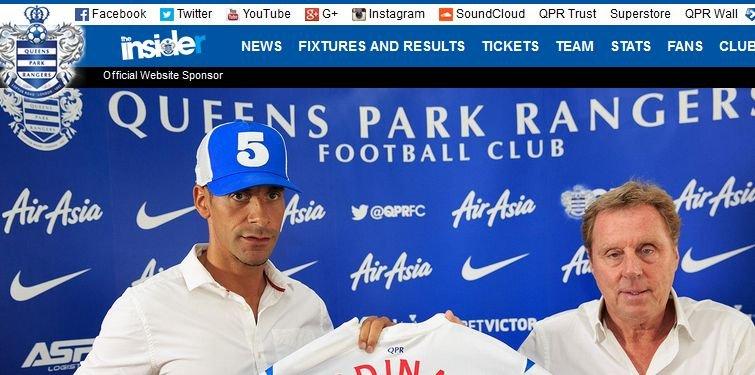 Rio Ferdinand i Harry Redknapp