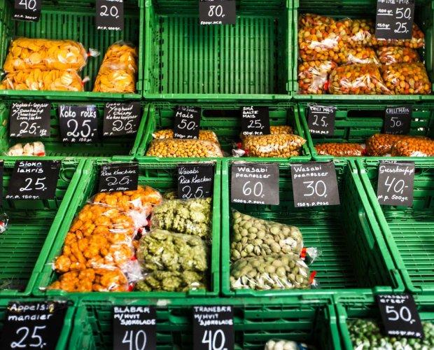 Targ z warzywami w Oslo