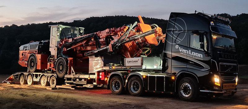Maszyna górnicza Jumbo Drill